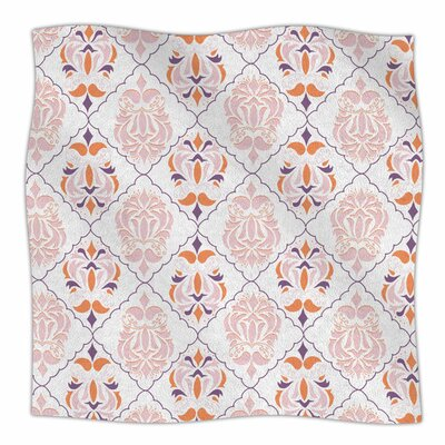 Modern Reminisence by Neelam Kaur Fleece Blanket Size: 80 L x 60 W