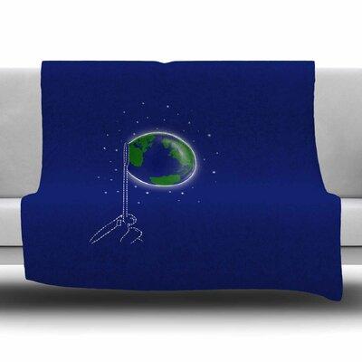 Bubble by BarmalisiRTB Fleece Blanket Size: 80 L x 60 W