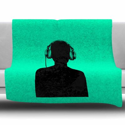 Music by BarmalisiRTB Fleece Blanket Size: 80 L x 60 W
