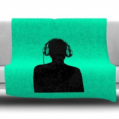 Music by BarmalisiRTB Fleece Blanket Size: 80 L x 60 W
