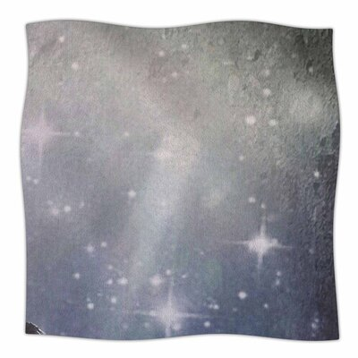 NO REST FOR THE WICKED by alyZen Moonshadow Fleece Blanket Size: 80 L x 60 W