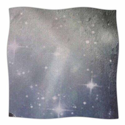 NO REST FOR THE WICKED by alyZen Moonshadow Fleece Blanket Size: 80 L x 60 W