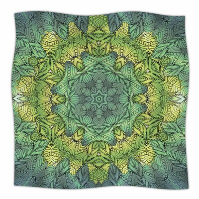 Fairy Mandala by Art Love Passion Fleece Blanket Size: 80 L x 60 W