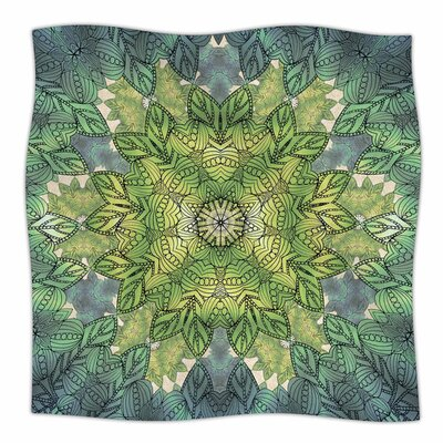Celtic Mandala by Art Love Passion Fleece Blanket Size: 80 L x 60 W