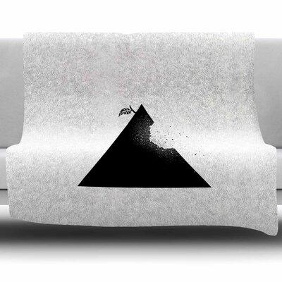 Apple Pyramid by BarmalisiRTB Fleece Blanket Size: 80 L x 60 W