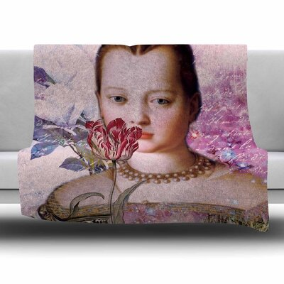 Eternity by Suzanne Carter Fleece Blanket Size: 80 L x 60 W