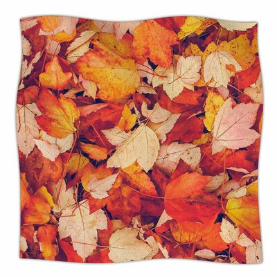 Scarlet by Debbra Obertanec Fleece Blanket Size: 80 L x 60 W