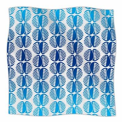 Poddy Combs in Blue by Dan Sekanwagi Fleece Blanket Size: 80 L x 60 W