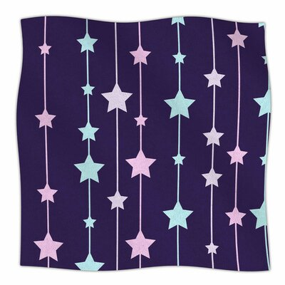 Twinkle Twinkle LIttle Star by NL Designs Fleece Blanket Size: 80 L x 60 W