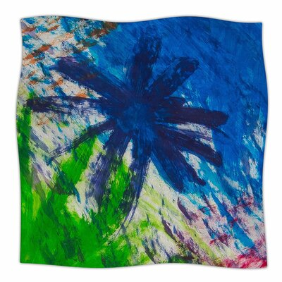 Splatter Stars by NL Designs Fleece Blanket Size: 80 L x 60 W