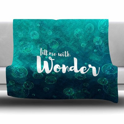 Wonder 2 by Suzanne Carter Fleece Blanket Size: 80 L x 60 W