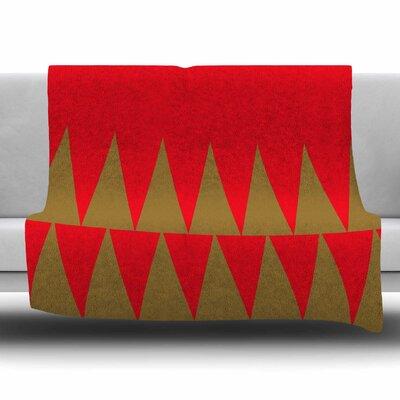 Christmas 1 by Suzanne Carter Fleece Blanket Size: 80 L x 60 W