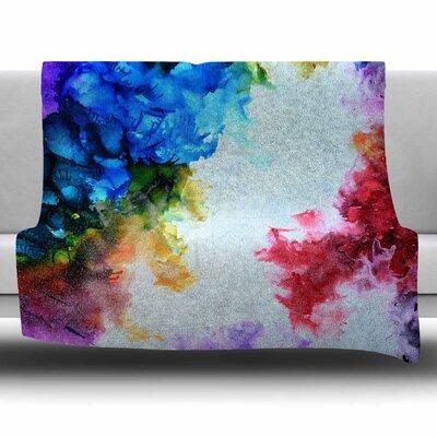 Fiona by Claire Day Fleece Blanket Size: 80 L x 60 W