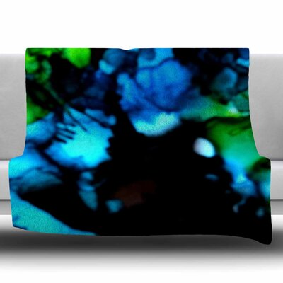 Deep Within by Claire Day Fleece Blanket Size: 80 L x 60 W