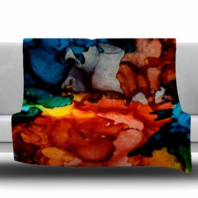 Fun Loving by Claire Day Fleece Blanket Size: 80 L x 60 W