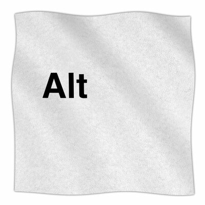 Alt by Jackie Rose Fleece Blanket Size: 80 L x 60 W