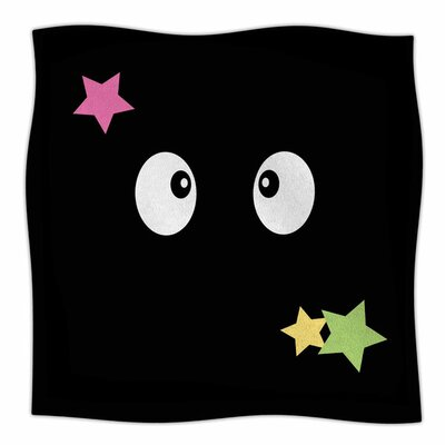 Soot Gremlins by Jackie Rose Fleece Blanket Size: 80 L x 60 W