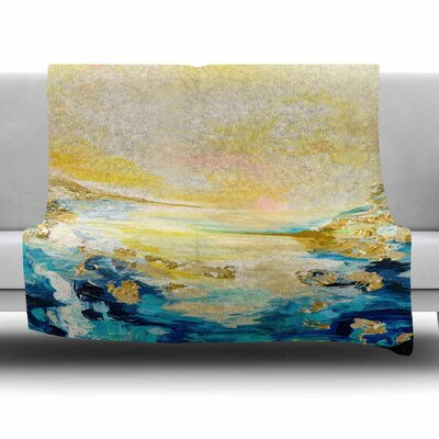 The Reverie by Ebi Emporium Fleece Blanket Size: 80 L x 60 W