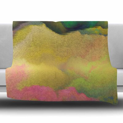 Pastoral by Nina May Fleece Blanket Size: 80 L x 60 W