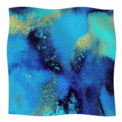 Salten Sea by Nina May Fleece Blanket Size: 80 L x 60 W