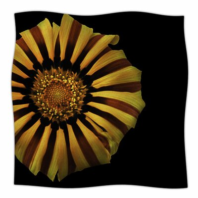 Flower by Nick Nareshni Fleece Blanket Size: 80 L x 60 W