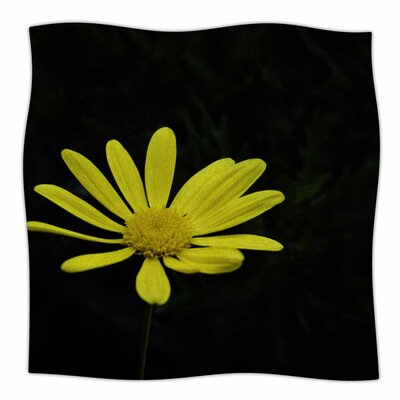 Pedal Daisy by Nick Nareshni Fleece Blanket Size: 80 L x 60 W