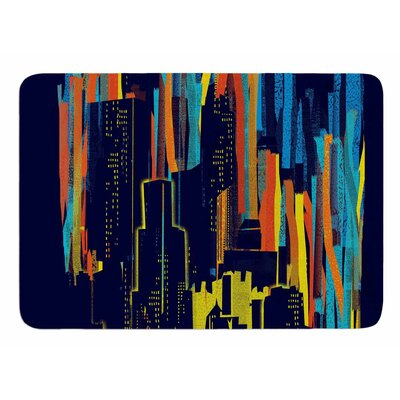Strippy City by Frederic Levy-Hadida Bath Mat