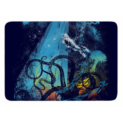 Danger from the Deep by Frederic Levy-Hadida Bath Mat