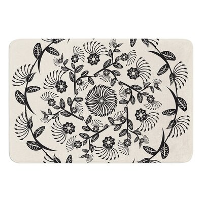 Decorative Mandala by Famenxt Bath Mat Size: 17W x 24L