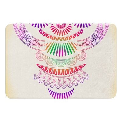 Decorative Ornament by Famenxt Bath Mat Size: 17W x 24L
