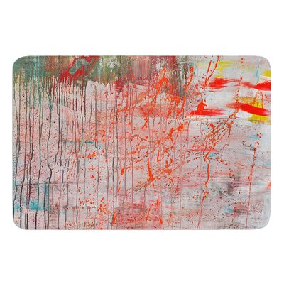 Mots De La Terre by Iris Lehnhardt Bath Mat Size: 24 W x 36 L