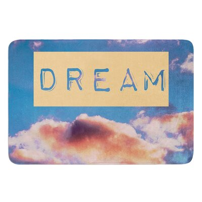 Dream by Iris Lehnhardt Bath Mat Size: 17W x 24L