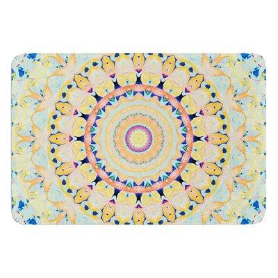Flourish by Iris Lehnhardt Bath Mat Size: 17W x 24L