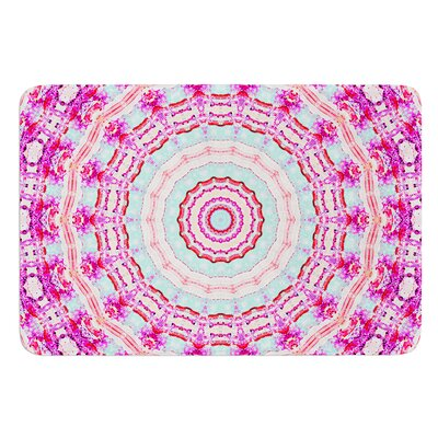 Happy by Iris Lehnhardt Bath Mat Size: 17W x 24L
