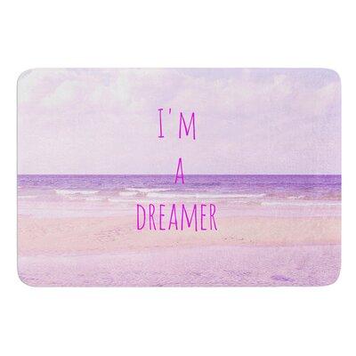 Im a Dreamer by Iris Lehnhardt Bath Mat Size: 24 W x 36 L