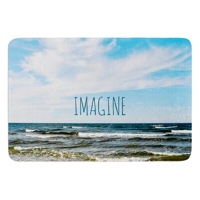 Imagine by Iris Lehnhardt Bath Mat Size: 24 W x 36 L