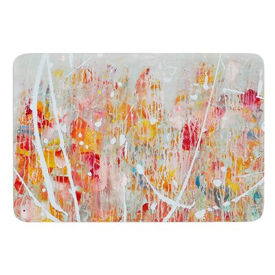 Joy by Iris Lehnhardt Bath Mat Size: 17W x 24L