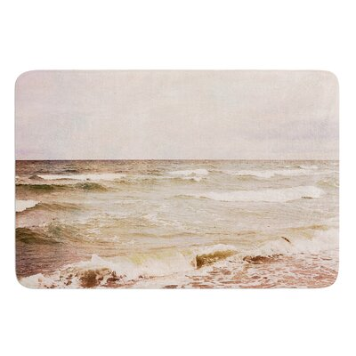 Romantic Sea by Iris Lehnhardt Bath Mat Size: 17W x 24L