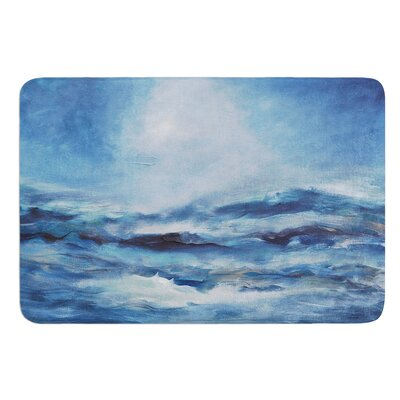 Rough Sea by Iris Lehnhardt Bath Mat Size: 17W x 24L