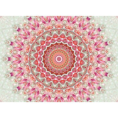 Summer Lace III by Iris Lehnhardt Bath Mat Size: 24 W x 36 L