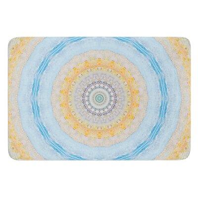 Summer Mandala by Iris Lehnhardt Bath Mat Size: 17W x 24L