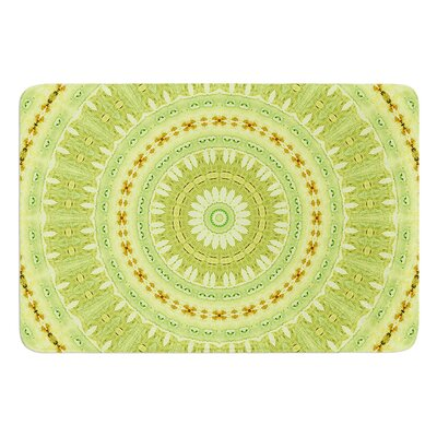 Wheel of Spring by Iris Lehnhardt Bath Mat Size: 17W x 24L