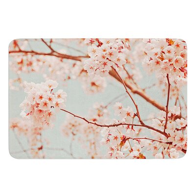 Blossoms All Over by Iris Lehnhardt Bath Mat Size: 17W x 24L