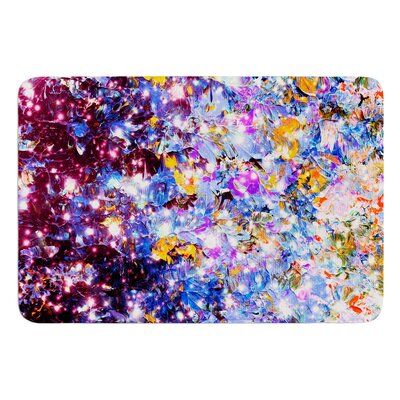 Midnight Serenade by Ebi Emporium Bath Mat Size: 17 W x 24 L