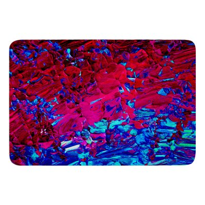 Eternal Tide by Ebi Emporium Bath Mat Size: 17 W x 24 L