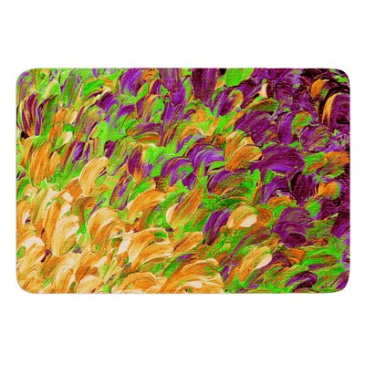 Follow the Current III by Ebi Emporium Bath Mat Size: 24 W x 36 L