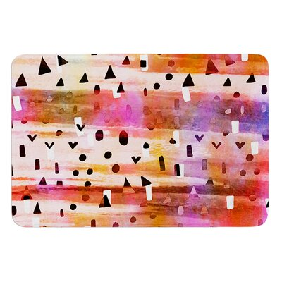 Geo Party by Ebi Emporium Bath Mat Size: 17 W x 24 L