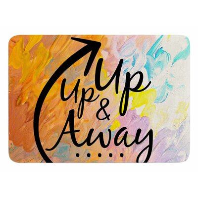 Up Up and Away by Ebi Emporium Bath Mat