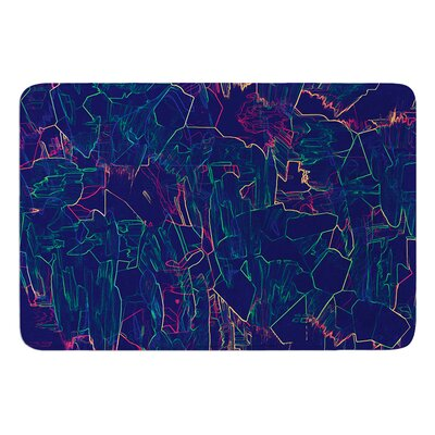 Night Life by Kathryn Pledger Bath Mat
