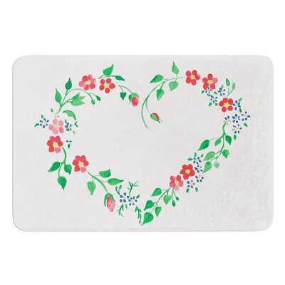 Heart by Louise Bath Mat